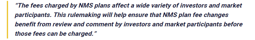 Chairman of SEC, Jay Clayton, stated