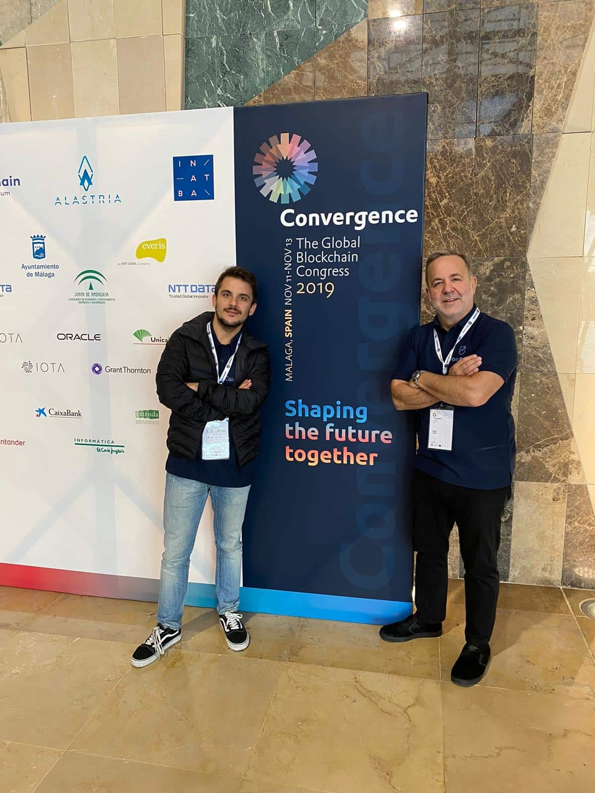 BlockchainArmy Participated in Convergence the Global Blockchain Congress