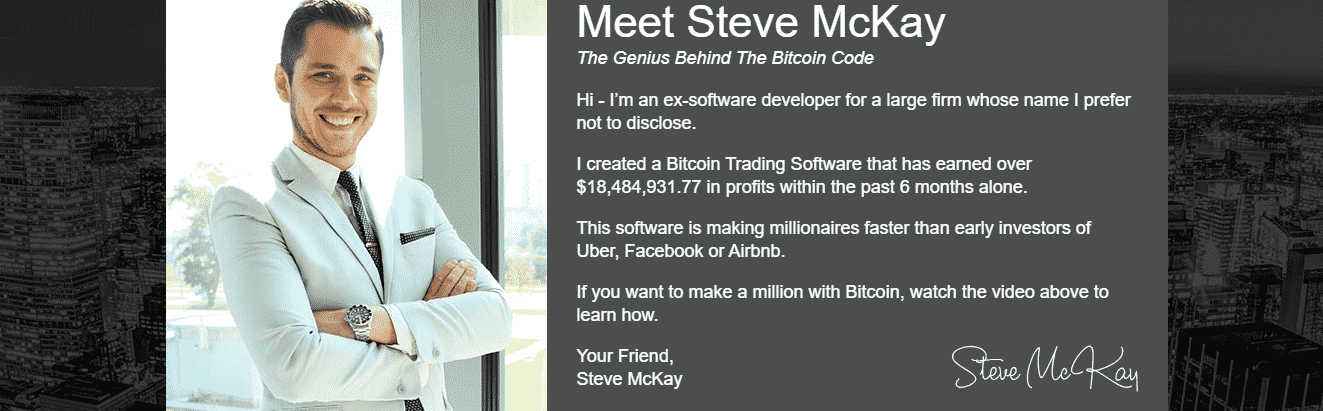 About Founder of Bitcoin Code
