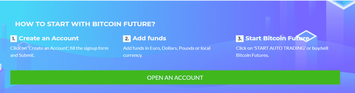 Open Account with Bitcoin Future