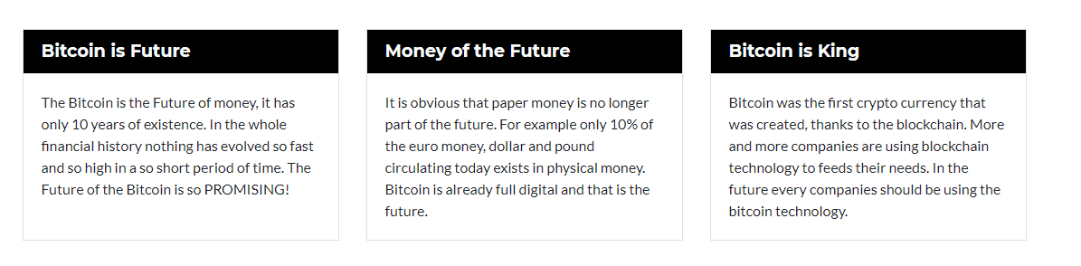 Key Points of Bitcoin Future