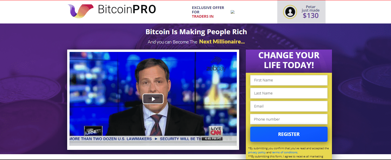 Bitcoin Pro Trading Platform
