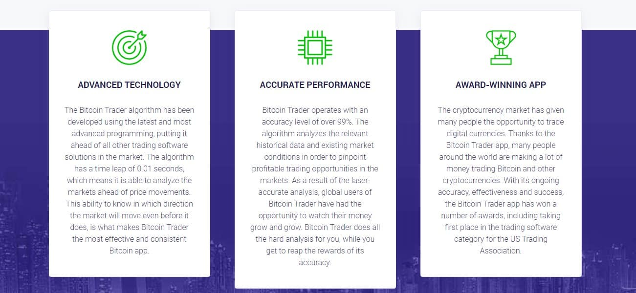 Bitcoin Trader Features