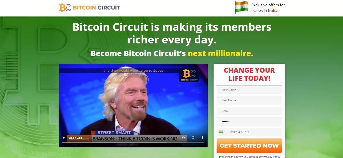Bitcoin Circuit Trading Platform