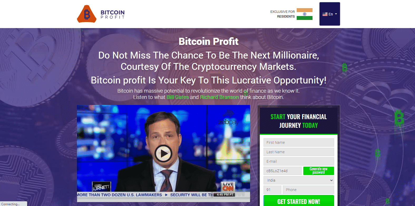 Bitcoin Profit Trading Platform