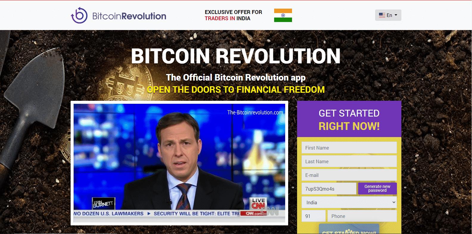 Bitcoin Revolution Trading Platform