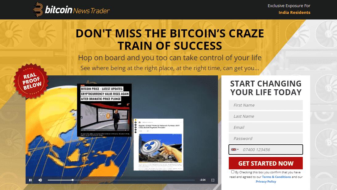 Bitcoin News Trader Review: Átverés vagy Legit?